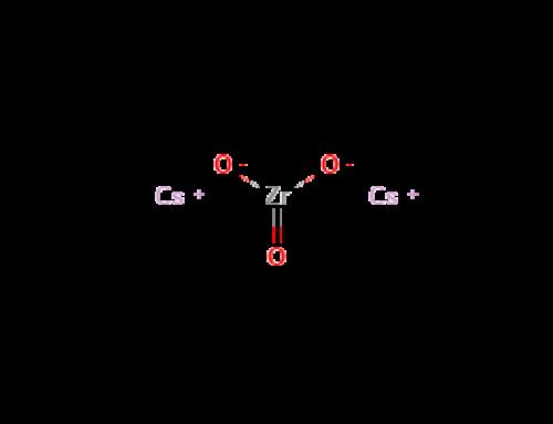 Cesium Zirconate Ingot